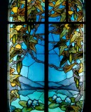 Jacques Gruber. Stained glass window