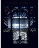 Charles Girault. Iron grid of the Petit Palais © Photo Couturier