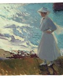 Joaquín Sorolla. <em>Maria at the Beach, Biarritz