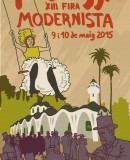 Poster of the Terrassa Modernista Fair 2015