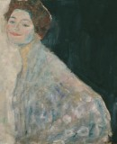 Gustav Klimt, <em>Lady in White</em>, 1917-1918. Oil on Canvas 70 x 70 cm  © Belvedere, Vienna