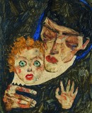 Egon Schiele, <em>Mother and Child</em> 1912 © Leopold Museum, Vienna, Photo: Leopold Museum