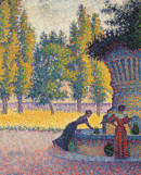 Paul Signac, <em>Saint-Tropez. Fontaine des Lices</em>, 1895. Private collection