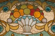 Manel Joaquim Raspall i Mallol, 1917-1922. Casa Viader. Detail od stained glass window